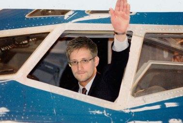 Snowden - photoshopped composite