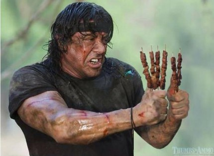 Stallone nel momento in cui decide di prendere Carrozzi per il prossimo Expendables