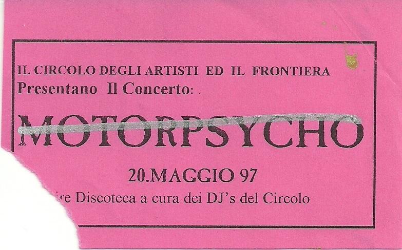 Motorpsycho - 20 Maggio 1997