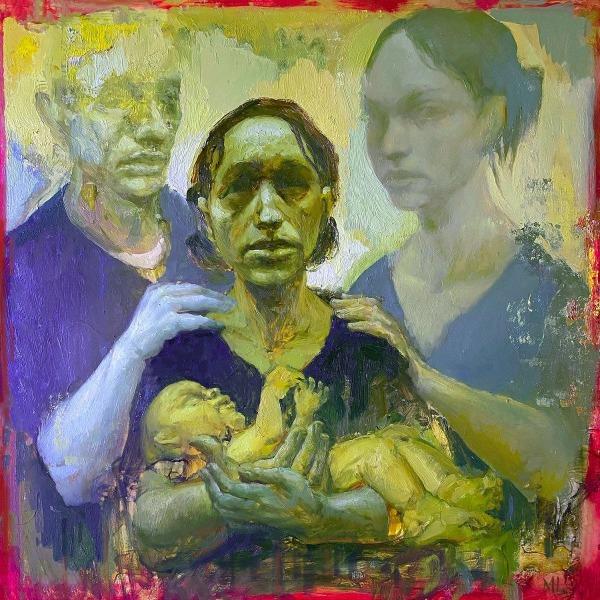 pallbearer forgotten days cover painting