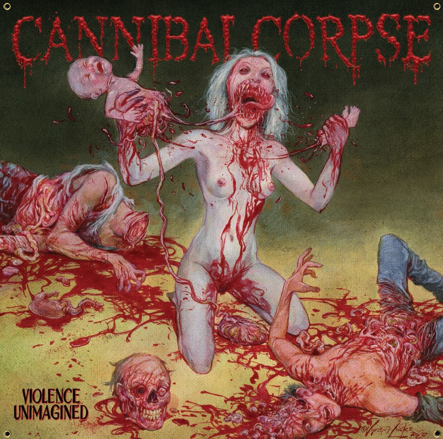 cannibal corpse - violence unimagined - uncensored cover
